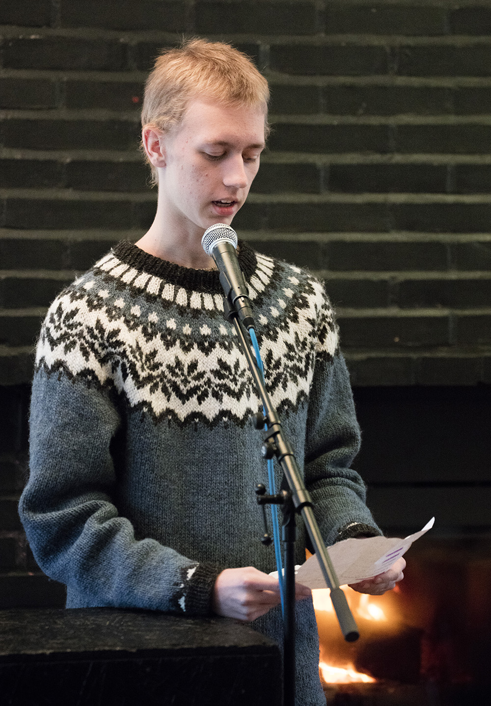 Forfatterskolen for unge og FGK (ForfatterGundKursus) på Litt Talk Litteraturfestival på Vallekilde Højskole, februar 2019.